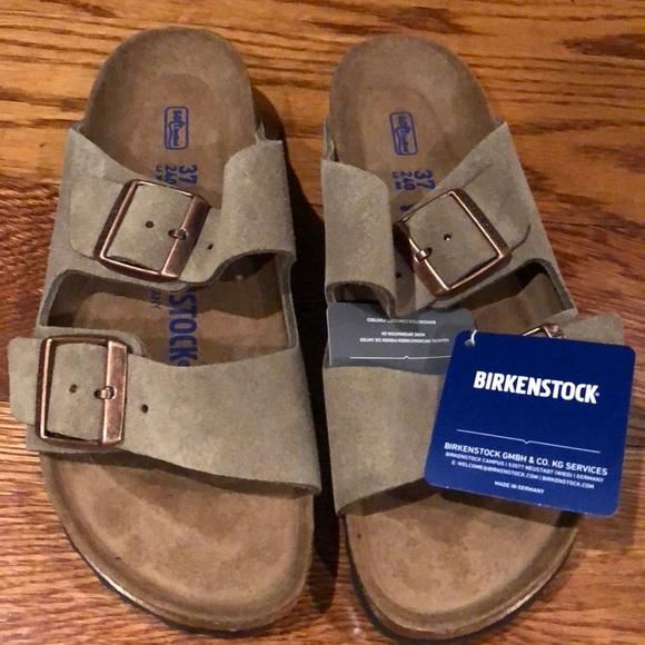 3d7fc03aebc Birkenstock Shoes - Birkenstock Arizona Taupe suede 6 narrow